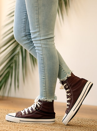 Maroon - Casual - Boots