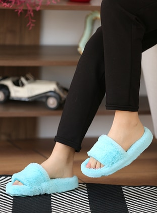 Sandal - Blue - Home Shoes