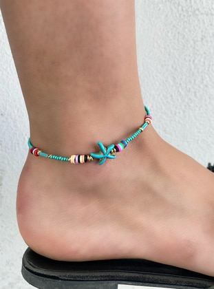 Turquoise - Anklet