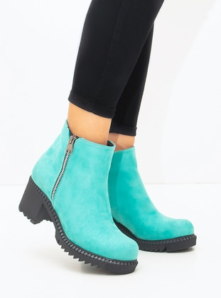 Sea-green - Boot - Boots