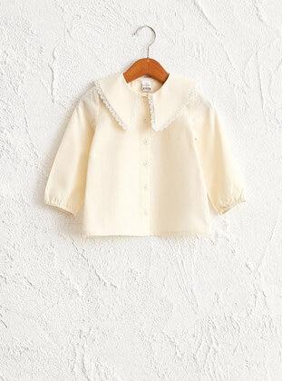 Cream - baby shirts - LC WAIKIKI