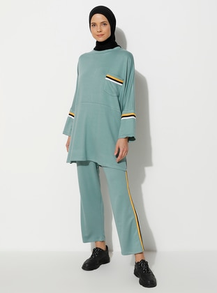 Mint - Unlined -  - Suit