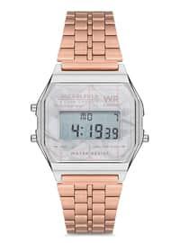 Silver tone - Rose - Watch