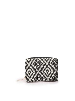 White - Black - Wallet
