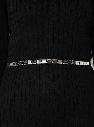 Silver tone - Belt