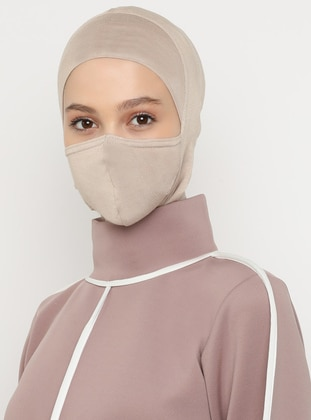 Mink - Plain - Simple - Viscose - Bonnet
