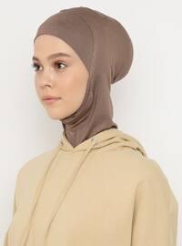 Mink - Plain - Simple - Viscose - Bonnet