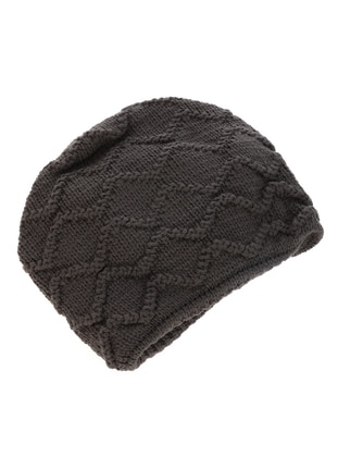 Unlined - Anthracite - Beanie - Gaia Kids