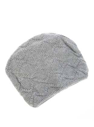Unlined - Gray - Beanie - Gaia Kids