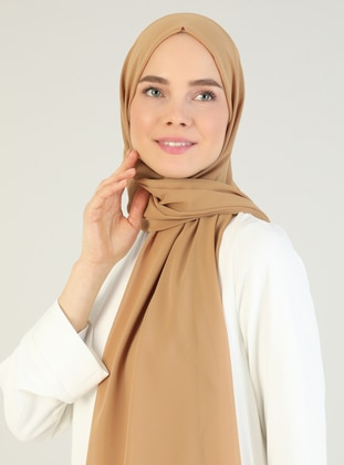 Camel - Plain - Shawl