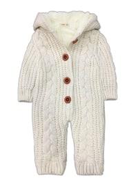 - Wool Blend - Cream - Overall