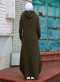 Khaki - Acrylic - - Knit Dresses