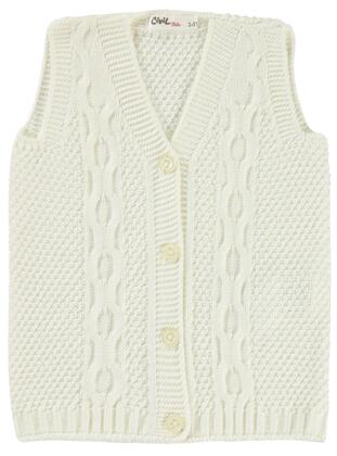 Ecru - Girls` Vest - Civil