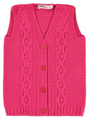 Fuchsia - Girls` Vest - Civil
