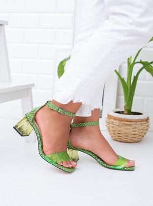 Green - Heels