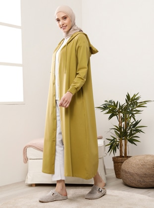 Olive Green - Unlined - Topcoat