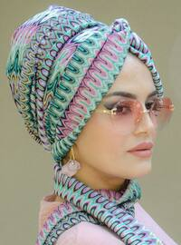 Multi - Printed - - Instant Scarf