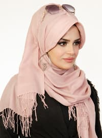 Powder - Plain -  - Viscose - Shawl