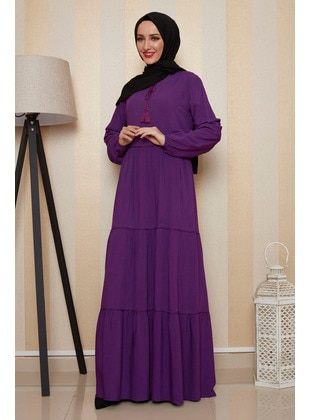 Purple - Dress