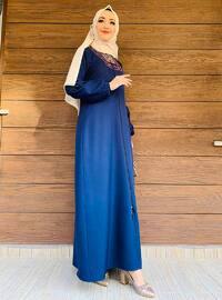 Navy Blue - Abaya