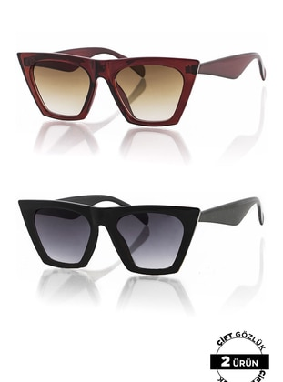 Black - Sunglasses - Polo55