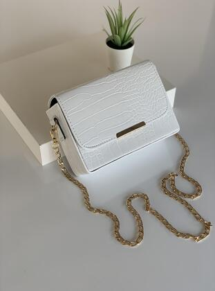 White - Shoulder Bags - MOON