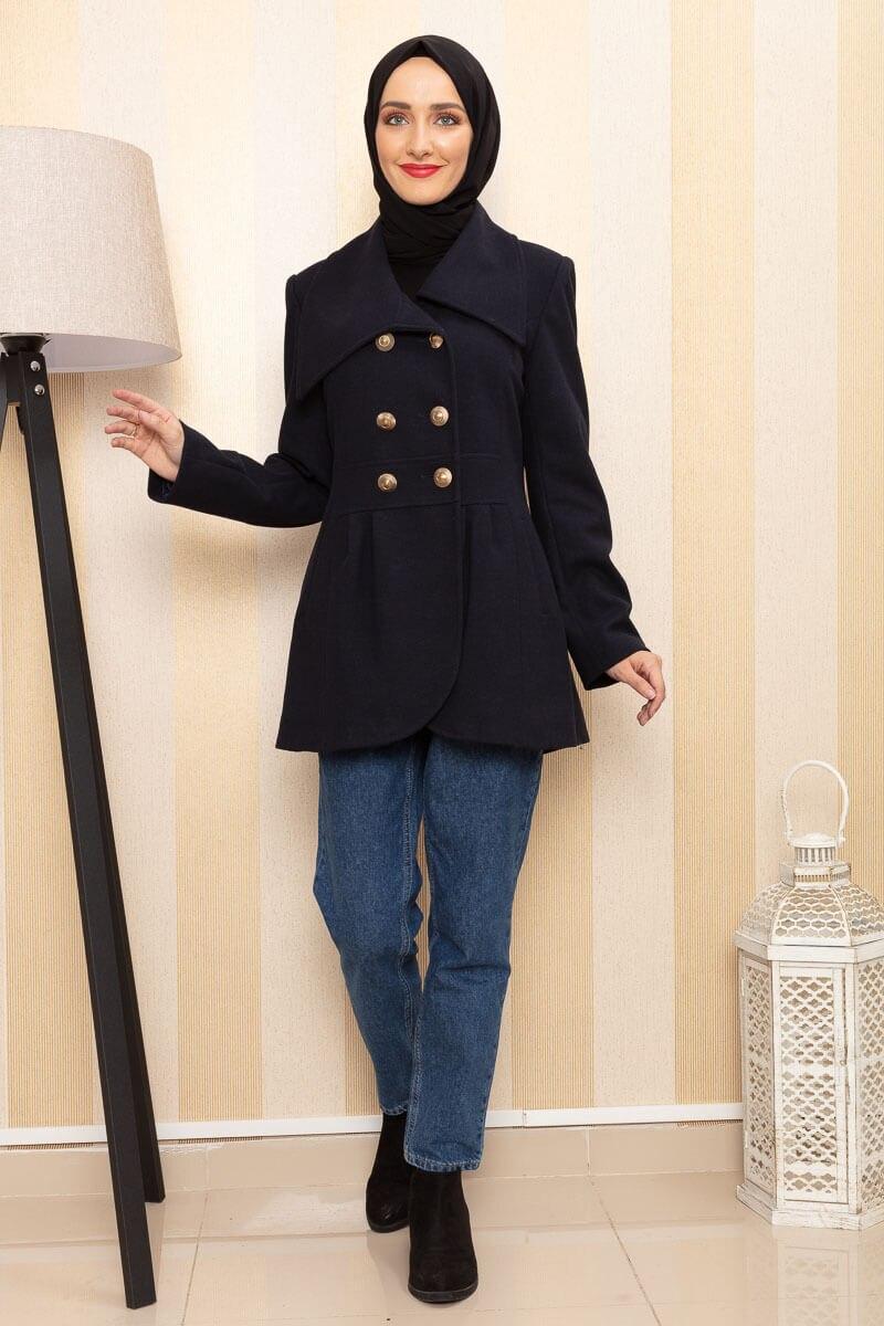 Puffer Jackets MODAPİNHAN Navy Blue