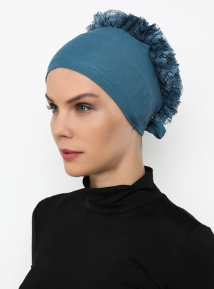 Indigo - Lace up -  - Bonnet