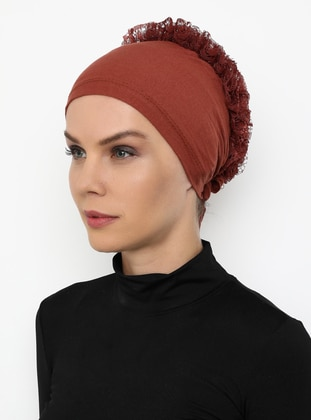 Terra Cotta - Lace up -  - Bonnet