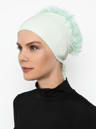 Mint - Lace up -  - Bonnet