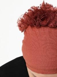 Terra Cotta - Lace up - - Bonnet