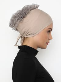 Mink - Lace up - - Bonnet