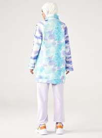 Polo neck - Lilac - Green - Sweat-shirt