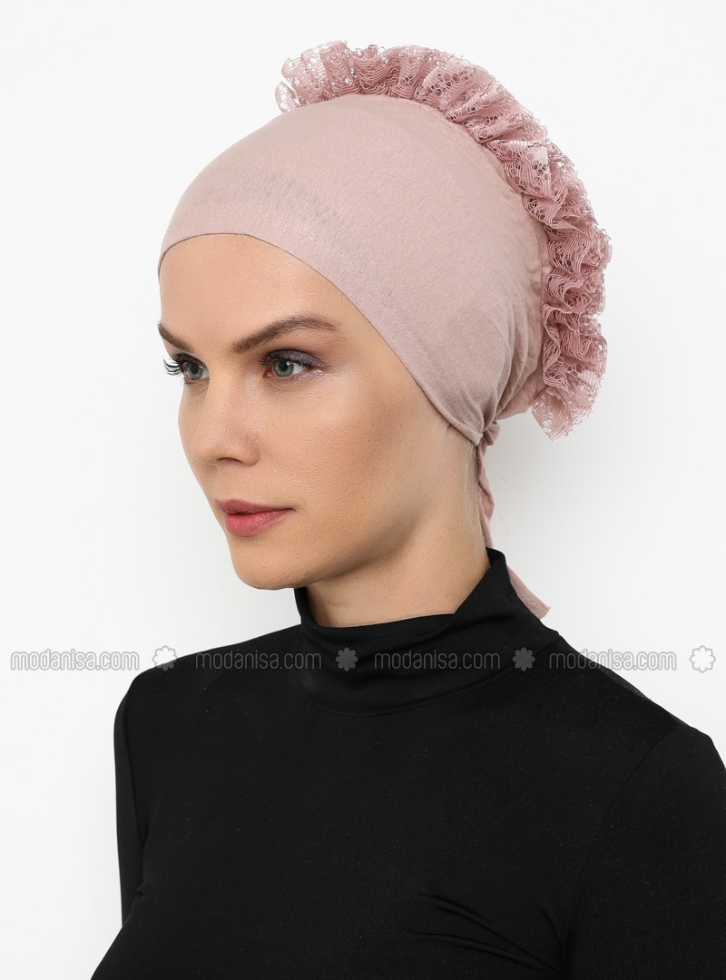Powder - Lace up -  - Bonnet