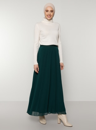 Green - Emerald - Fully Lined - Skirt