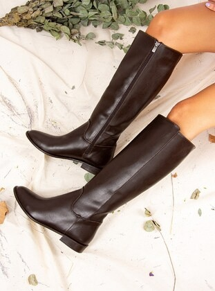 Brown - Boots - Fox Shoes