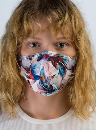 Multi - Indigo - Mask
