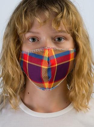 Multi - Orange - Mask