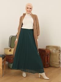 Green - Emerald - Fully Lined - Skirt