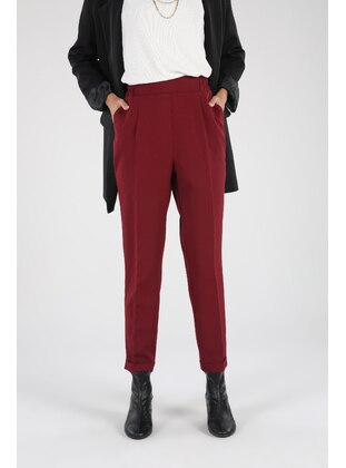 Maroon - Pants - Allday