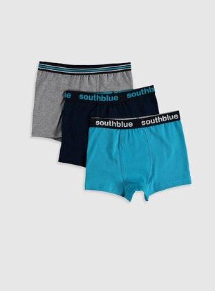 Turquoise - Kids Underwear - LC WAIKIKI