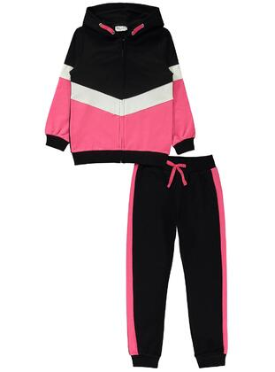 Fuchsia - Girls` Tracksuit - Civil