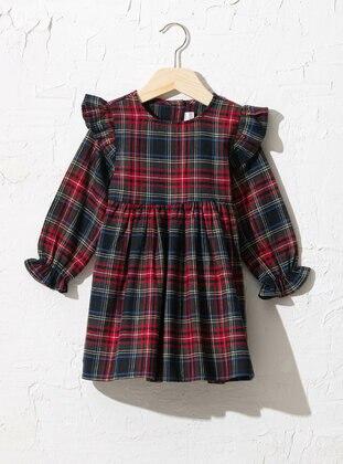Red - Baby Dress - LC WAIKIKI