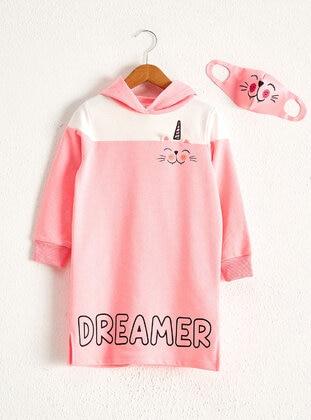Pink - Girls` Dress - LC WAIKIKI