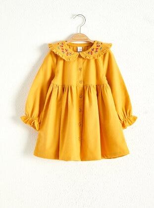 Yellow - Baby Dress - LC WAIKIKI
