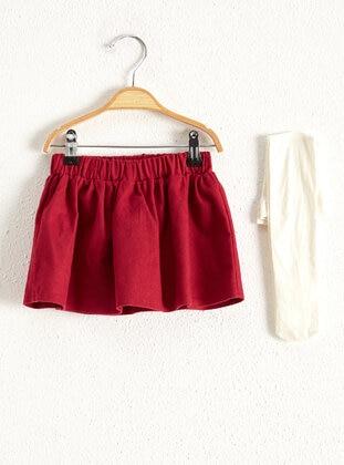 Maroon - Baby Skirt - LC WAIKIKI