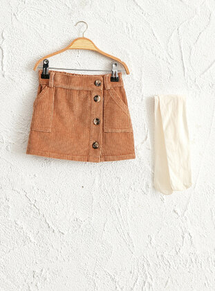 Brown - Baby Skirt - LC WAIKIKI
