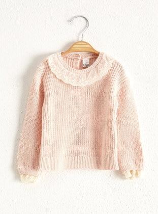 Ecru - Girls` Pullovers - LC WAIKIKI