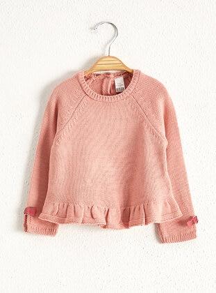 Pink - Girls` Pullovers - LC WAIKIKI