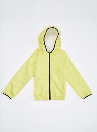 Yellow - Girls` Raincoat - DeFacto